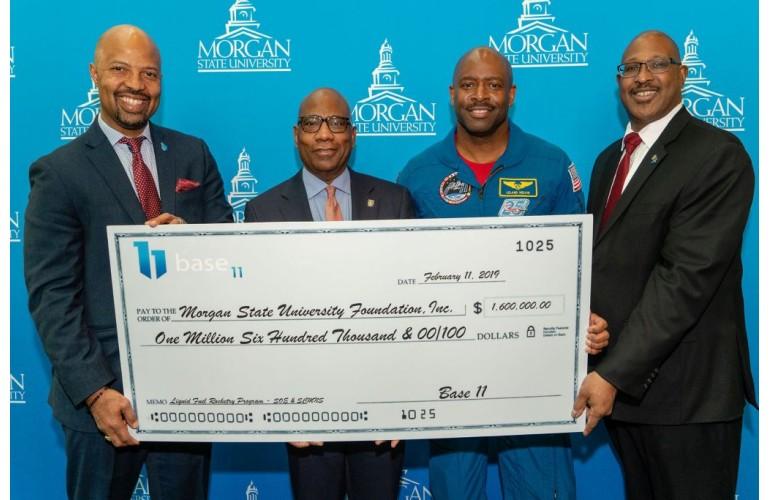 Morgan State University gets million dollar Base 11 grant