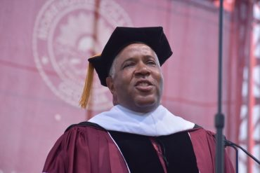 Robert F. Smith surprises Morehouse Class of 2019