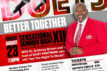 Save the date: Dream 4 It Foundation's 12th Annual Benefit Concert, August 23