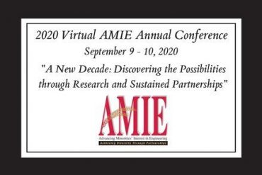 AMIE Annual Conference: Sept. 9-10