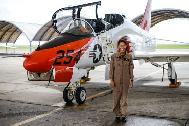 Navy's first Black female pilot set to receive her Wings of Gold