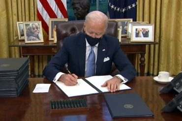 Applause for Biden-Harris Day One Executive Action on Racial Equity