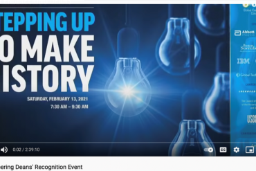 2021 HBCU Engineering Dean Recognition Event Makes History on YouTube