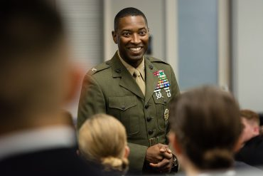 US Marine with a storied history is promoted to Brigadier General