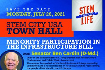 Save the date: STEM City USA Infrastructure Bill Townhall, Monday, July 26