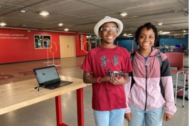 Students learn how to code, fly, and steer drones at MSOE summer camp
